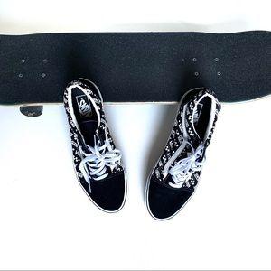 Vans Old Skool  Logo Repeat Shoes